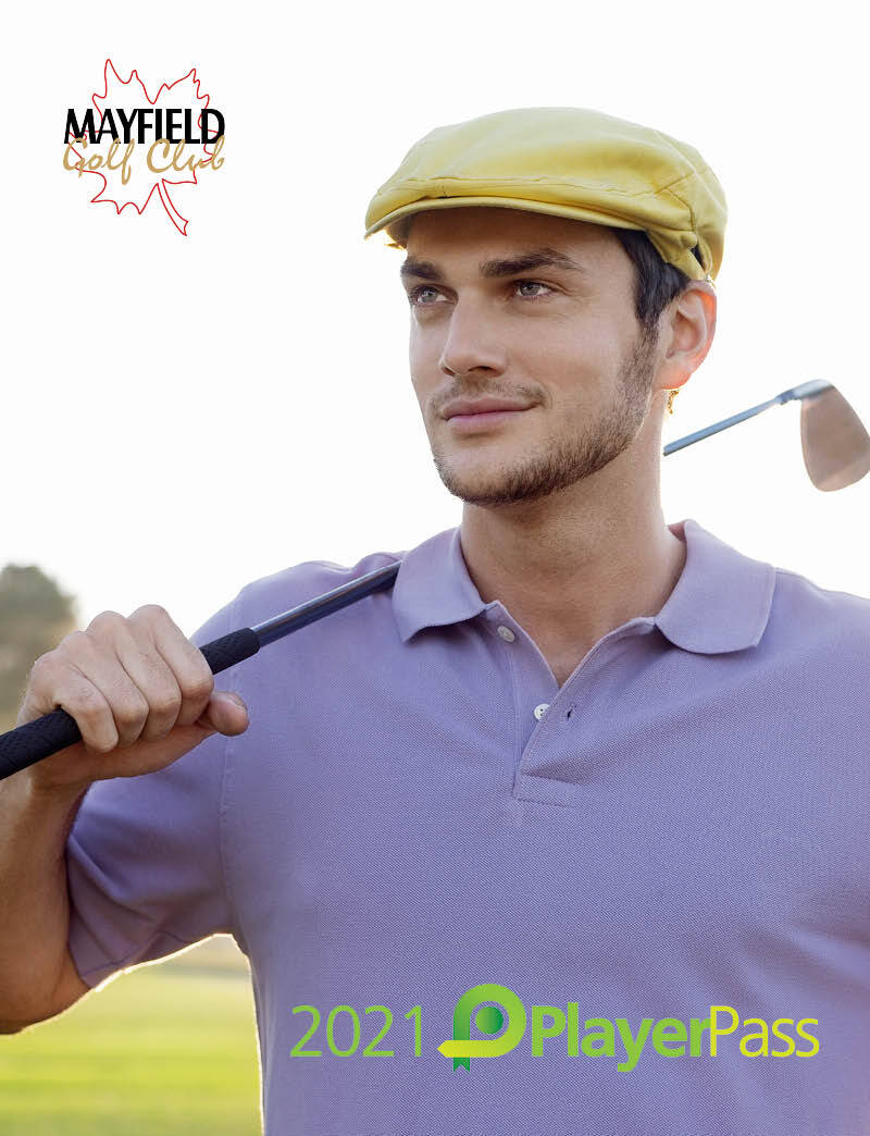2021 PlayerPass (Man Holding Golf Club)